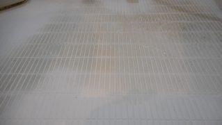 清掃では落とせない浴室床の汚れ